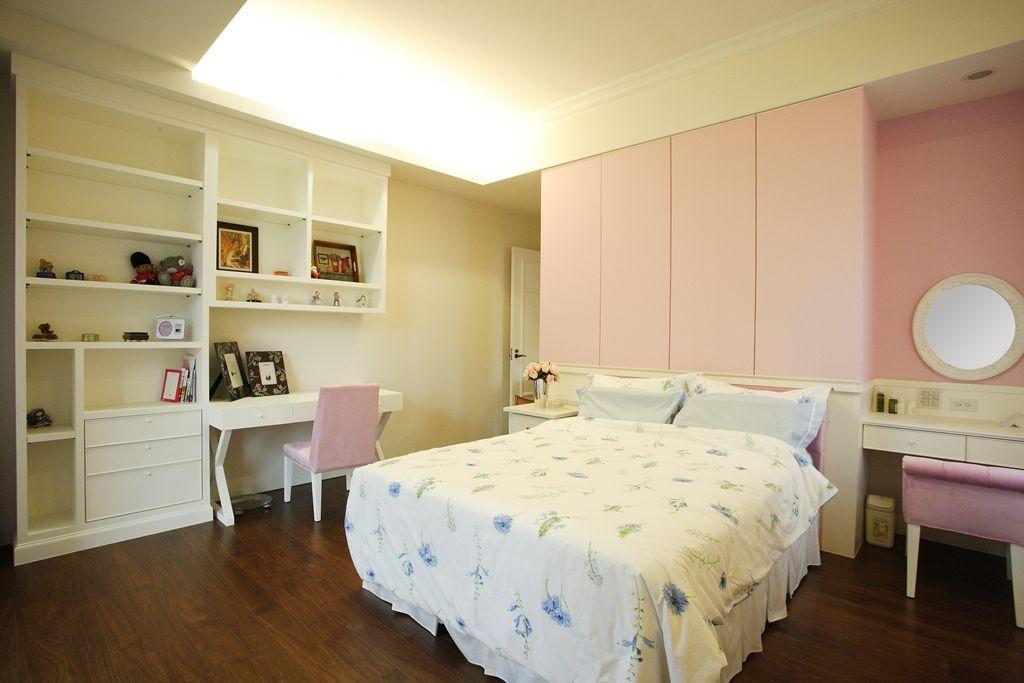 小户型女生卧室装修效果图
